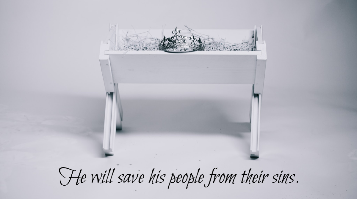 """He will save his people"" Matthew 1:18-25 Devotional on the Birth of Jesus Christ"
