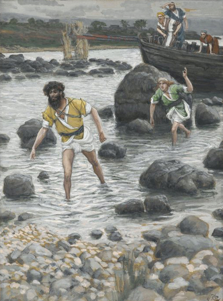 "Devotions (Matthew 4:12-23) Jesus preaches and calls his disciples to be ""Fishers of Men"""